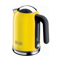 Amazon.com: DeLonghi Kmix 54-Ounce Kettle, Yellow: Appliances found on Polyvore
