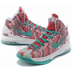 super popular a2645 39f6f 2013 Womens KD V Christmas Digital Turquoise University Red White