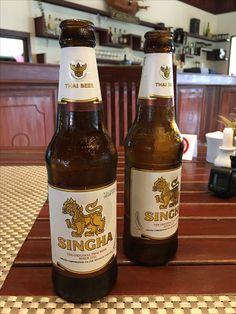 Singa Beer, Thailand ❤️