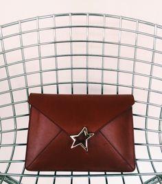 Tiffany Star Vitello Burgundy / bag star /