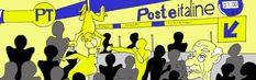 M'arimbarza: 'a fila alle Poste. http://www.organiconcrete.com/2016/03/07/marimbarza-fila-alle-poste/