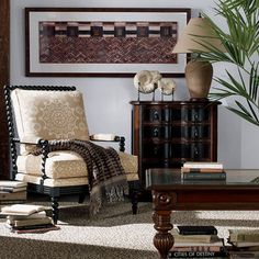 Brant Chair - Ethan Allen US----like this style, maybe in an off white