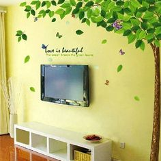 X Large Reusable Removable Decoration Wall Sticker Decal- Tree by Angelostore, http://www.amazon.com/dp/B00D90OWXY/ref=cm_sw_r_pi_dp_LSmYrb1G9B002