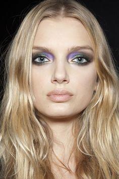 Roberto Cavalli #runwaybeauty #runway #beauty #eyes #eyeshadow
