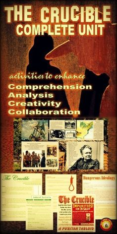 The salem witch trials an overview alexandria witch trials and the crucible comprehensive unit comprehensionanalysiscreativitycollaboration fandeluxe Images