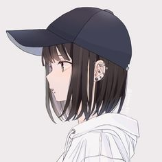 No photo description available. Fille Anime Cool, Cool Anime Girl, Beautiful Anime Girl, Anime Art Girl, Anime Girls, Anime Chibi, Anime Love Couple, Cute Anime Couples, Dark Anime