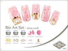 Breast cancer pearls art set Bio Sculpture, Nail Art Galleries, Breast Cancer, Art Gallery, Pearls, Image, Art Museum, Beads, Gemstones
