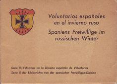 """Voluntarios españoles en el invierno ruso"". Per veure la sèrie completa fes click a l'etiqueta #DivisiónAzul  #CRAIBibrepublica 1975, Winter, Block Prints, Volunteers, Blue Nails, Winter Time, Winter Fashion"