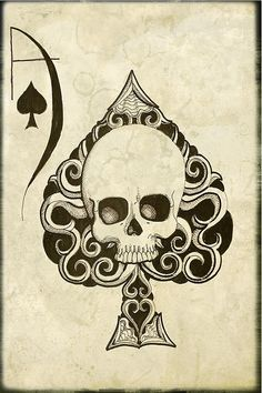 Ace of Spades card by ShayneotheDead