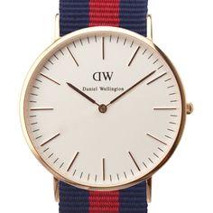 Classic Oxford (rose gold) watch by Daniel Wellington. Available at Dezeen Watch Store: www.dezeenwatchstore.com