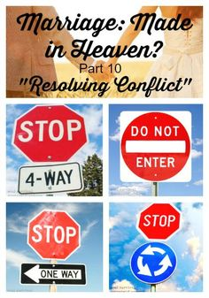 "Marriage: Made in Heaven? Part 10 ""Resolving Conflict"" + LINKUP - Conflicts and disagreements happen in the best of marriages, but what happens when we aren't resolving conflict biblically?"
