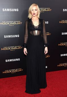 All the Best, Most Glamorous Red-Carpet Looks from the 'Mockingjay: Part 2' Promo Tour  - MarieClaire.com