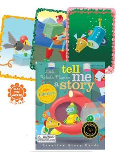Eeboo - Tell me a Story Robot Mission