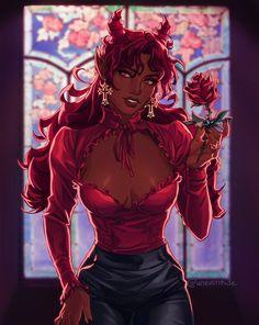 Black Cartoon Characters, Black Girl Cartoon, Black Girl Art, Black Women Art, Black Girl Magic, Cartoon Art, Art Girl, Dark Fantasy Art, Fantasy Girl