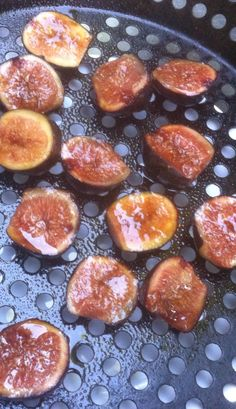 grilling figs to pair with a Sauternes. #winepairing