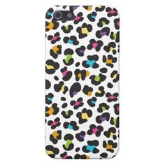 Cheetah Pattern Cool iPhone 5 Cases for Girls