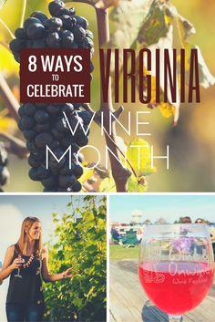 8 Ways to Celebrate Virginia Wine Month