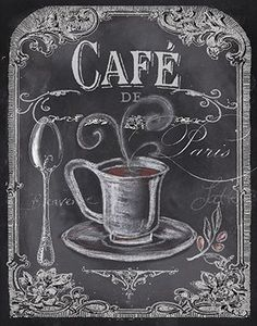 CARTEL Cafe Tea Creative Chalkboard Idea