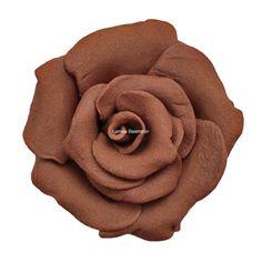 Trandafiri mici 42 buc maro