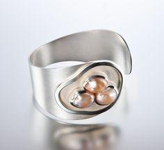 Sterling Silver and Cultured Pearls Bracelets | Janis Kerman Design
