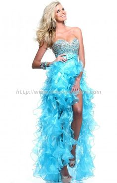 Prom Dress with Sequins