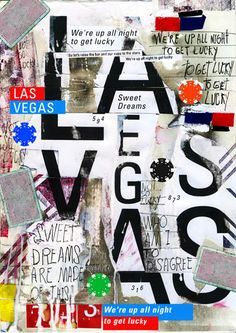 las vegas 2014 for show us your type project poster by marcos faunner