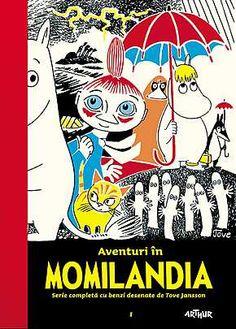 """Noutate la Editura Arthur: """"Aventuri în Momilandia 1"""", de Tove Jansson"""