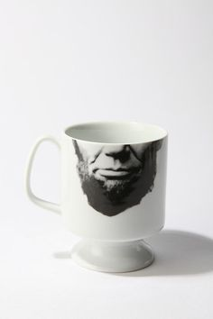 abe lincoln flared mug for urban outfitters