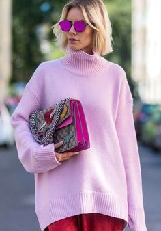 """""""Pretty in pink"""" has been a thing for, well, ever—but until recently, the color was déclassé in a sense, reading overly girly or (even worse) juvenile. But, this spring this color is everywhere..."""