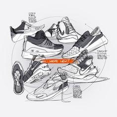 #nike #roshe #socfly #socdart #adidas #y-3 #zeeshan #hakkim #conceptkicks #sketch #industrialdesign #product #footwear
