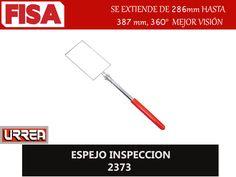 ESPEJO INSPECCION 2373. Se extiende de 286mm hasta 387mm, 360  mejor visión- FERRETERIA INDUSTRIAL -FISA S.A.S Carrera 25 # 17 - 64 Teléfono: 201 05 55 www.fisa.com.co/ Twitter:@FISA_Colombia Facebook: Ferreteria Industrial FISA Colombia