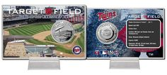 Minnesota Twins T... http://www.757sc.com/products/minnesota-twins-target-field-silver-coin-card-hm?utm_campaign=social_autopilot&utm_source=pin&utm_medium=pin #nfl #mlb #nba #nhl #ncaaa #757sc
