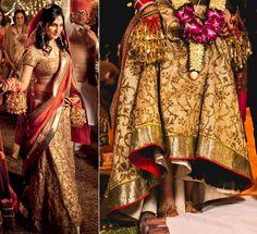 The golden bride #Lehanga #Weddingplz #Wedding #Bride #Groom #love # Fashion #IndianWedding  #Beautiful #Style