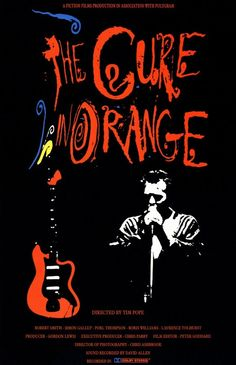 The Cure - The Cure in Orange.