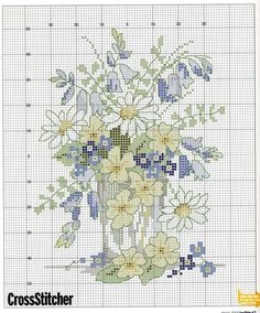 flower cross stitch