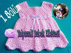 Easy Crochet Baby Dress How? (From start to finish Last Lecture) - baby knitting patterns Preemie Clothes, Crochet Baby Clothes, Baby Dress Patterns, Baby Knitting Patterns, Crochet Poncho, Easy Crochet, Vestidos Bebe Crochet, Baby Design, Toddler Dress