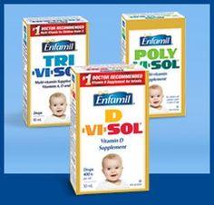 Enfamil Baby Coupons: Get Up to $18 Off Enfamil Vitamins!