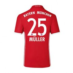 adidas Bayern Munich Muller #25 Soccer Jersey (Home 2016/17): http://www.soccerevolution.com/store/products/ADI_40913_A.php