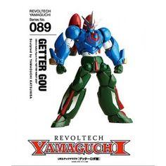 Revoltech 089 Yamaguchi Revoltech: Getter Gou  Revoltech 089 Yamaguchi Revoltech: Getter Gou ...