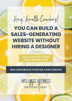 Learn how you can create and maintain an online presence as a health coach with a website that brings you clients and makes you money! Coach Website, Free Website, Website Ideas, Diy Workshop, Small Business Marketing, Free Training, Health Coach, Health And Wellness, Improve Yourself