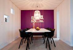 Una casa con mucho purpura | Decorar tu casa es facilisimo.com