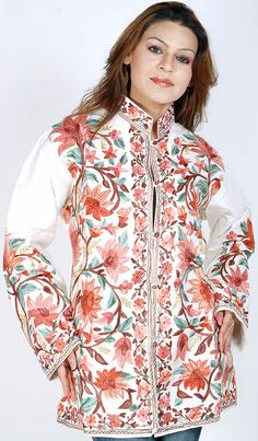 embroidered jackets | Images taken from here and here