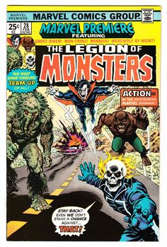 MARVEL PREMIERE #28 (Feb. 1976) Cover Art by Nick... - JR's Comic Collection