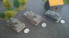 IV, PV and STUG.III with target markers from my own design board game. Tank War, Board Games, Markers, Scale, Target, Paper, Design, Weighing Scale, Sharpies