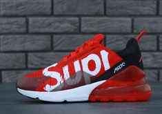 nike air max 270 supreme Source by clothing Best Sneakers, Custom Sneakers, Sneakers Fashion, Fashion Shoes, Sneakers Nike, Mens Fashion, Supreme Shoes, Supreme Clothing, Nike Basketball Shoes