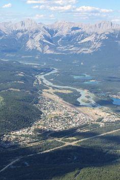 Jasper AB from SkyTram - Canadian Rockies