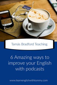 Do you know that podcasts are an amazing way to learn a new language? Read my blogpost to learn how to improve your language skills Teaching English Grammar, English Vocabulary, Improve Your English, Learn English, Online Lessons, Language Lessons, Listening Skills, Learn A New Language, Esl