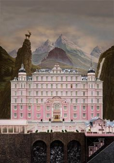 Textless Movie Posters – An awesome collection of movie posters without the texts (The Grand Budapest Hotel)