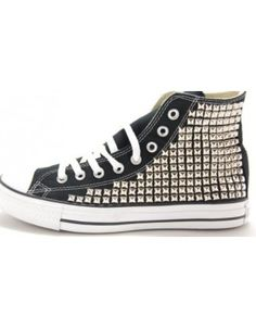 Superette Co-Labs Studded Chucks found on Polyvore Studded Converse bbe67b50d