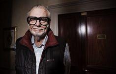 The father of zombie films,George Romero. My hero.